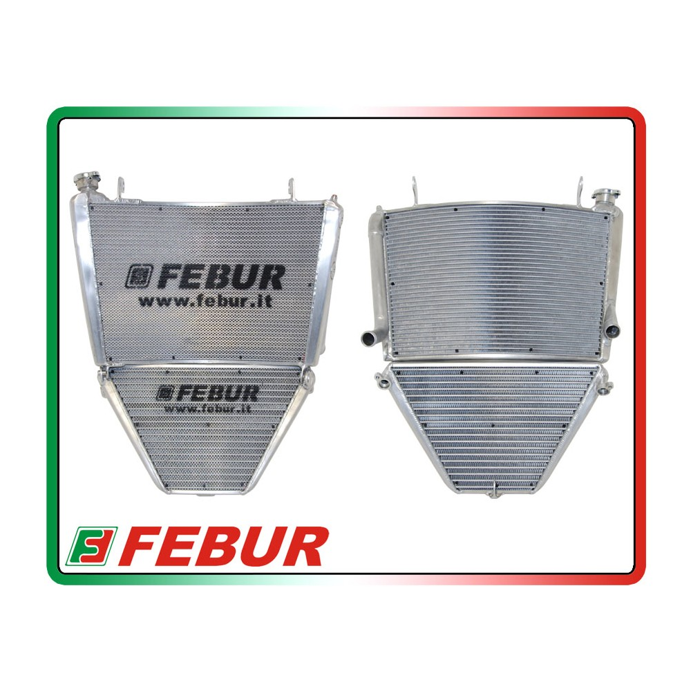 Febur Yamaha YZF R1 SKB Racing Radiator 2015 & Up
