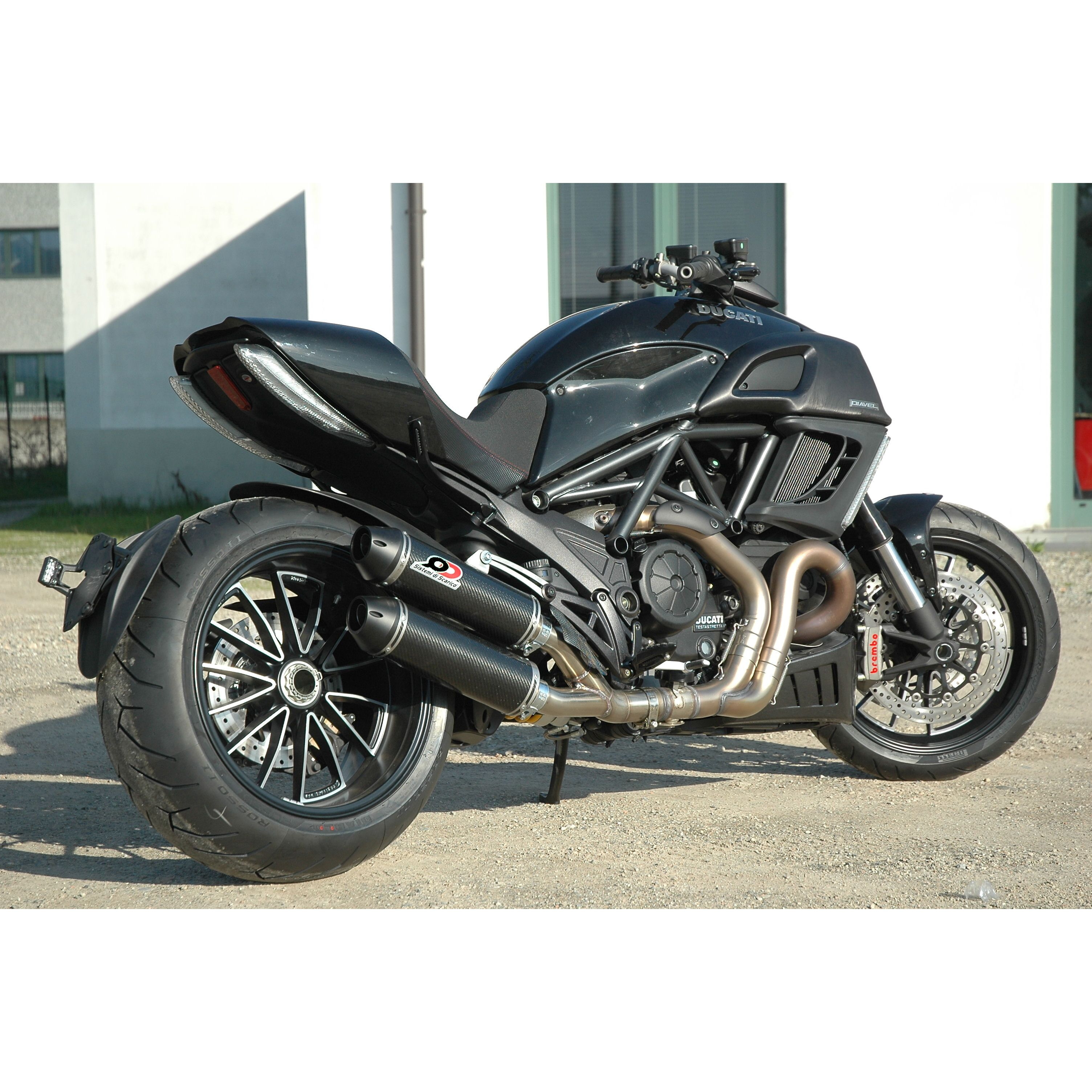 Parts Ducati Diavel XDiavel Exhaust QD Magnum Series Twin Full System